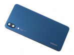 02351WKU - Battery cover Huawei P20 - blue (original)
