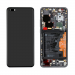 02353PJG - Front cover with touch screen and LCD display + battery Huawei P40 Pro - black (original)