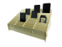 16338L - Wooden storage box for mobile phones 48 box
