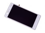 20NE1SW0001 - Front cover with touch screen and LCD display Nokia 3/ Nokia 3 Dual SIM - silver (original)