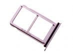 51661JAV - SIM and SD tray Huawei P20 - pink (original)