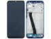 561010028033 - Front cover with touch screen and LCD display Xiaomi Redmi 7 - blue (original)