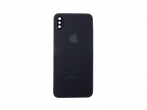 Battery cover iPhone X + camera glass black