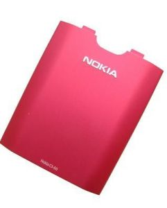 0257123 - Battery cover Nokia C3-00 - pink (original)