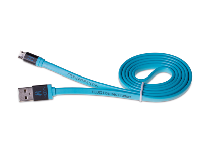 H-CLU1LL01 - cable micro-usb HEDO - blue