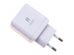 Charger adapter HEDO 2xUSB 2.4A - white (original)