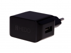 Charger adapter USB HEDO 2.1A - black (original)