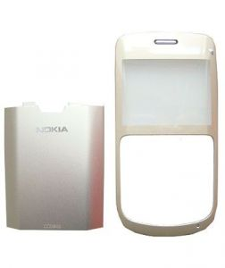 0257693, 0257694 - Front cover + battery cover Nokia C3-00 - gold (original)