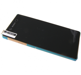 Front cover with touch screen and display Sony Xperia Z3 E6533 Dual SIM -  copper (original)