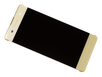 78PA3100020, 78PA3100070 - Front cover with touch screen and LCD display Sony F3111, F3113, F3115 Xperia XA/ F3112, F3116 Xperia XA Dual - lime gold (original)
