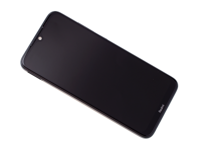 5600040C3X00 - Front cover with touch screen and LCD display Xiaomi Redmi Note 8T - Tarnish/ black (original)