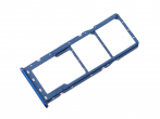 GH98-43634D - SIM tray card Samsung SM-A750 Galaxy A7 (2018) - blue (original)