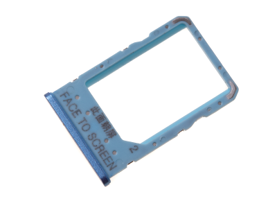 481069730050 - NanoSIM tray card Xiaomi Redmi 6A - blue (original)