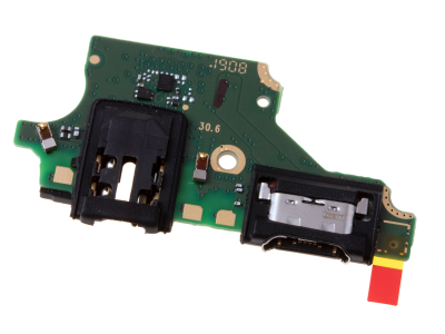 02351VPS - Original flex + charger  Board with USB charger connector and microphone Huawei P20 Lite