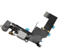 System connector with flex cable iPhone 5S - white
