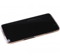Touch screen and LCD display Alcatel OT 6055K, OT 6055P One Touch Idol 4 - gold (original)
