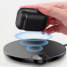 WIAPPOD-01 - Baseus AirPods Wireless Charger Case Silicone Protective Box with Wireless Charging Function for Apple AirPods headphones (WIAPPOD-01) black
