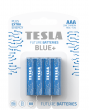 Zinc-carbon batteries TESLA AAA/R03/1,5V 4pcs BLUE+